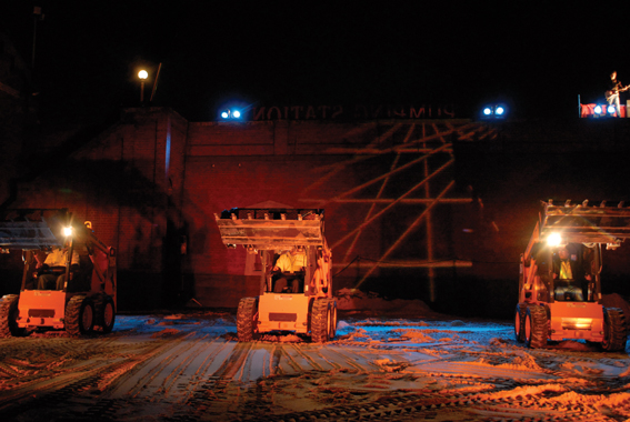 Melbourne Workers Theatre Production_We Built This City, 2006